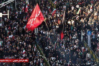 مراسم تشییع میلیونی و باشکوه پیکر سپهبد شهید قاسم سلیمانی در ایران