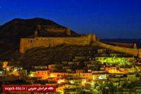 مرمت و استحکام بخشی برج و حصار قلعه فورگ شهرستان درمیان