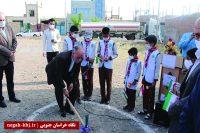 آغاز ساخت ۷ مدرسه با مشارکت خیران
