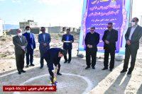 آغاز عملیات اجرایی احداث مخزن بتنی با حضور معاون وزیر کشور در بیرجند