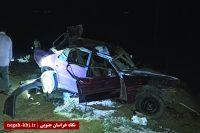 ۳ کشته در حادثه محور نهبندان – شوسف