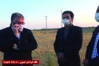 حضور سرزده استاندار در شهر کویری سه قلعه سرایان