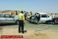 ۴ زخمی در حادثه رانندگی محور بشرویه